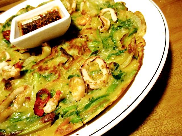 Seafood pancake 2