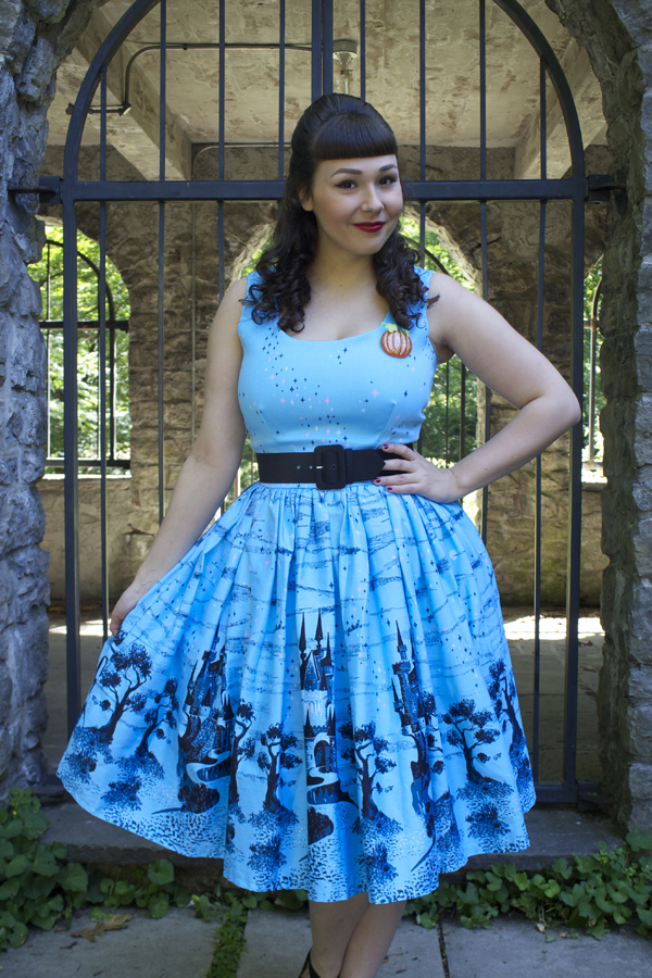 cinderella castle dress
