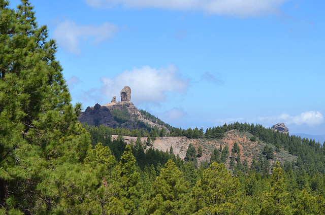 Views of Roque Nublo, Gran Canaria