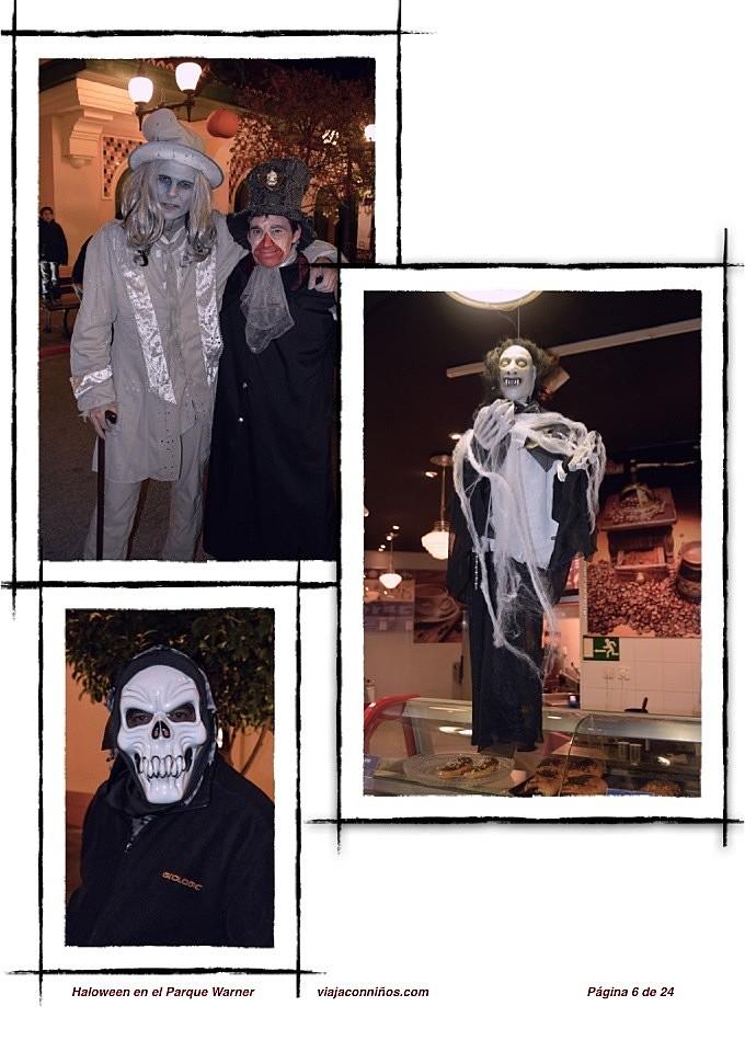 Halloween en el Parque Warner