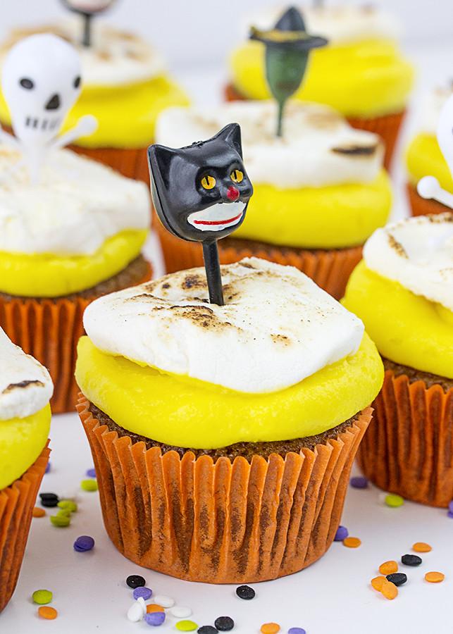 Receta cupcakes Halloween