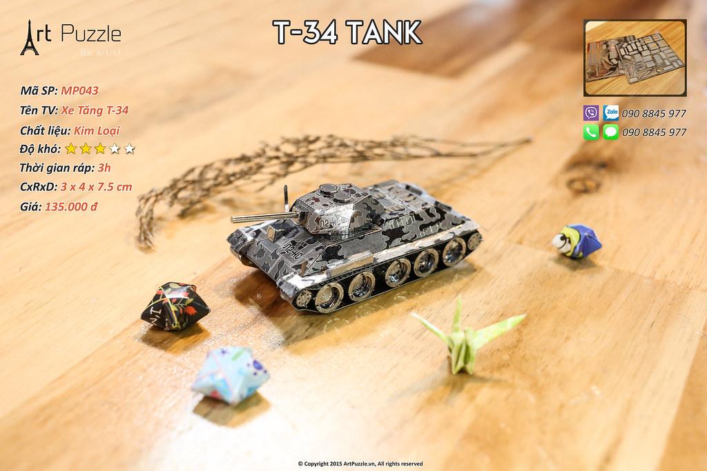 Art Puzzle - Chuyên mô hình kim loại (kiến trúc, tàu, xe tăng...) tinh tế và sắc sảo - 44