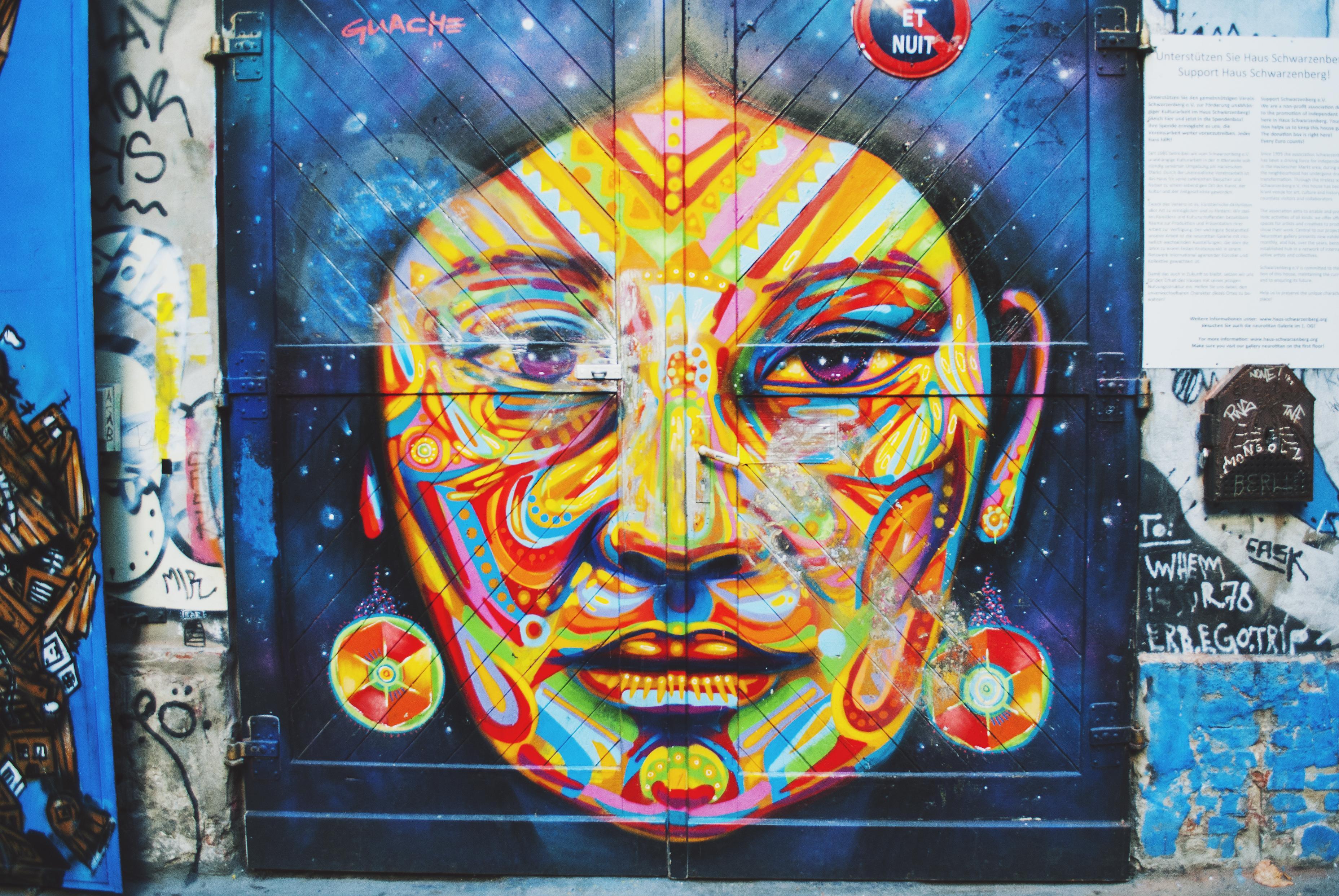 Berlin Travel Diary Cafe Cinema Street Art