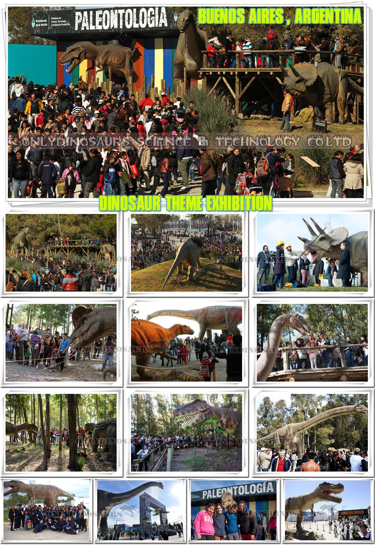 Dinosaur Exhibition in Argentina