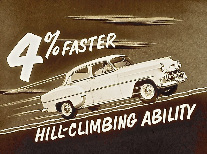 1951 PLYMOUTH FACTS SALES GUIDE Comparo with CHEVROLET /& FORD