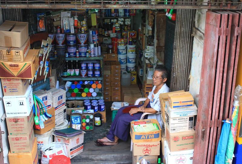 Янгон, торговля