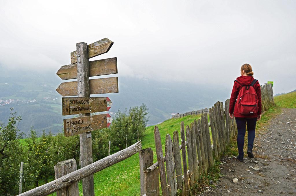 Walking the Chestnut Trail (Keschtnweg) in South Tyrol