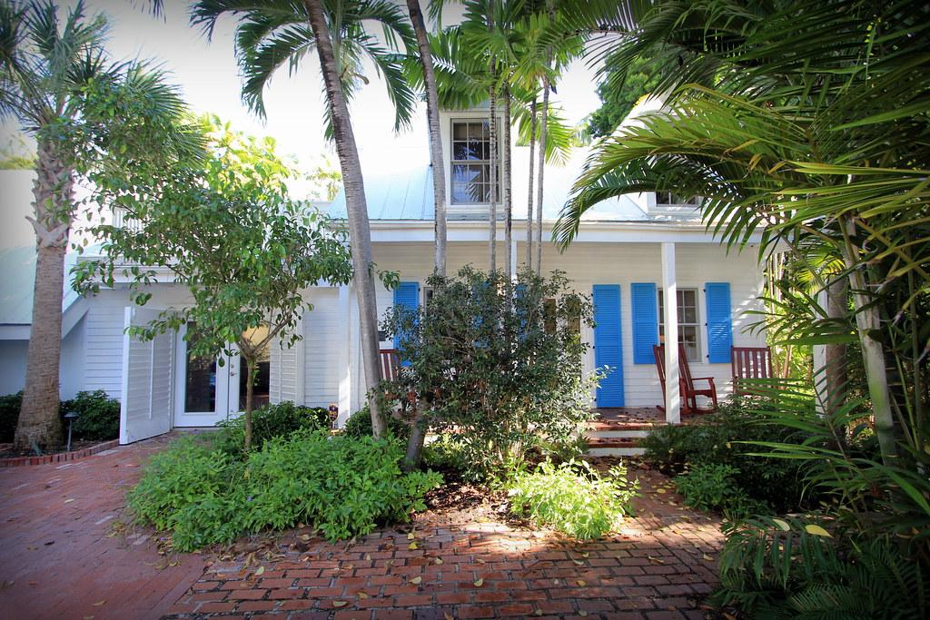 Key West Properties: 4 Pinder Lane, Key West - Old Town Treasure Key West House Plans Breezeway on