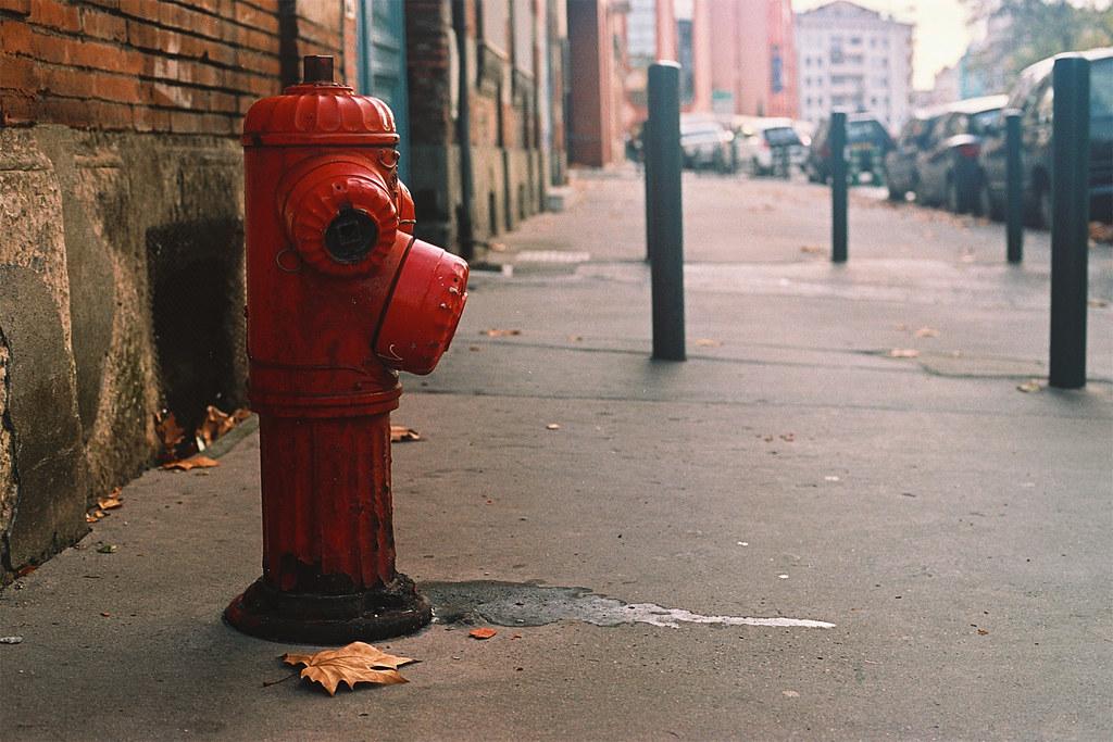 Toulouse, fire hidrant