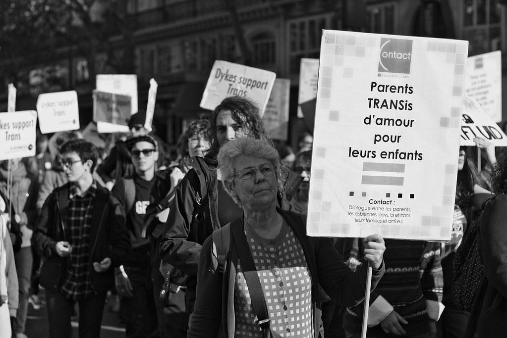 transexuel black paris