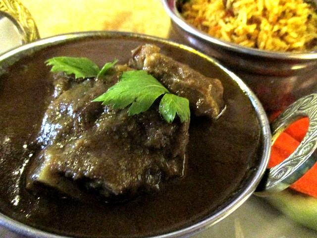 Cafe Ind, Sibu mutton bryani