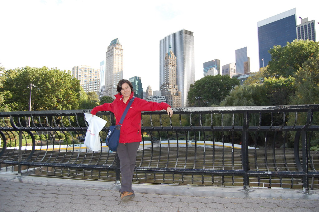 Manmely en Central Park
