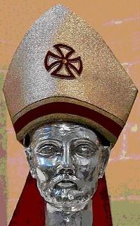Relíquia del cap de Sant Gregori.