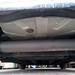 Black muffler closeup