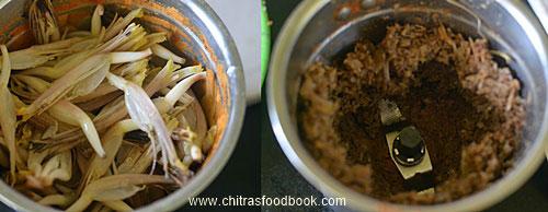 Vazhaipoo kola urundai recipe