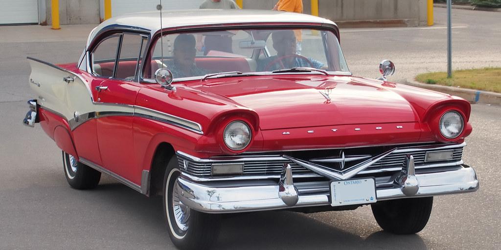 1957 Ford Meteor Rideau 500 Hardtop Orangeville Dufferi