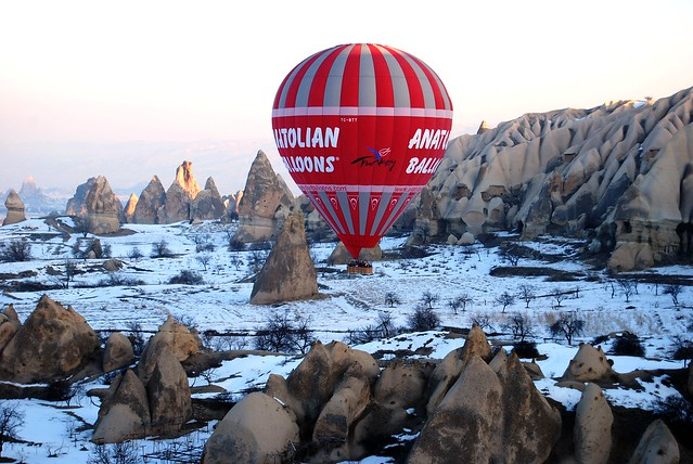 Turkey Balloon………………………….居高臨下
