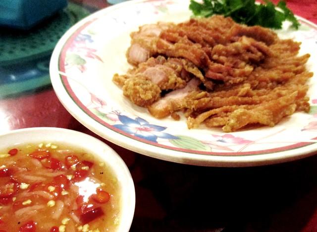 Tung Seng pork with cincaluk