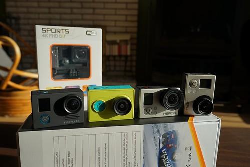 Firefly 6S   4K veiksmo kamera iš Kinijos