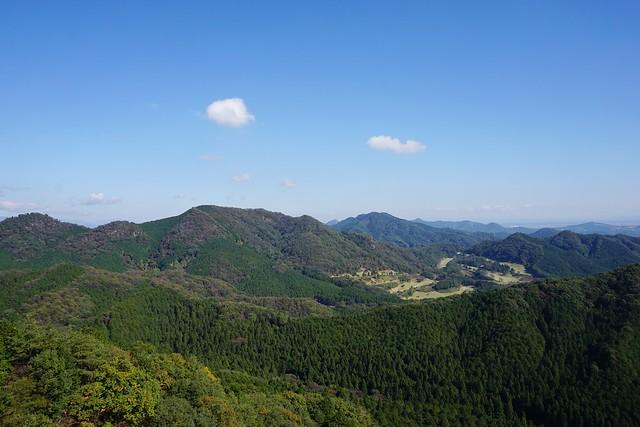 古賀志山の展望