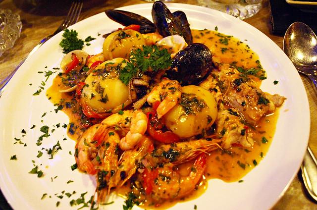 Seafood cazuela, Tenerife