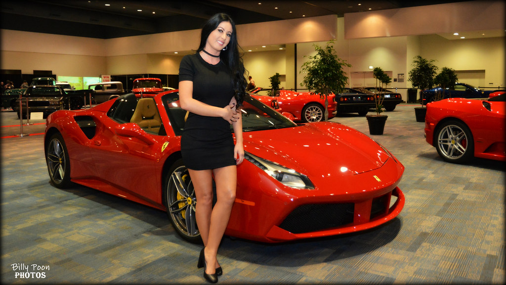 2017 ferrari 488 spider san francisco auto show sherelle for San francisco motor show