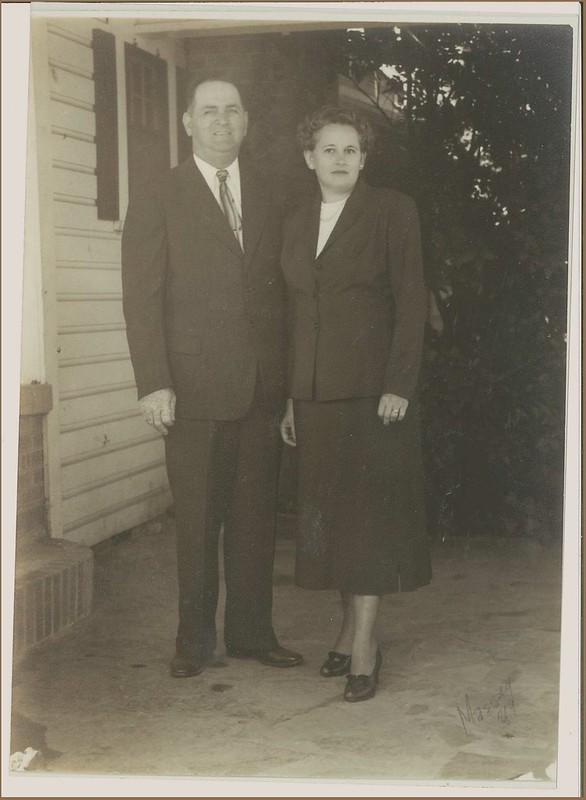 Heman and Elza Stewart Drummond of Walker County, Alabama