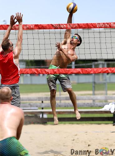 Sport - Open Men Beach Volleyball tournament at Jolibeach ...