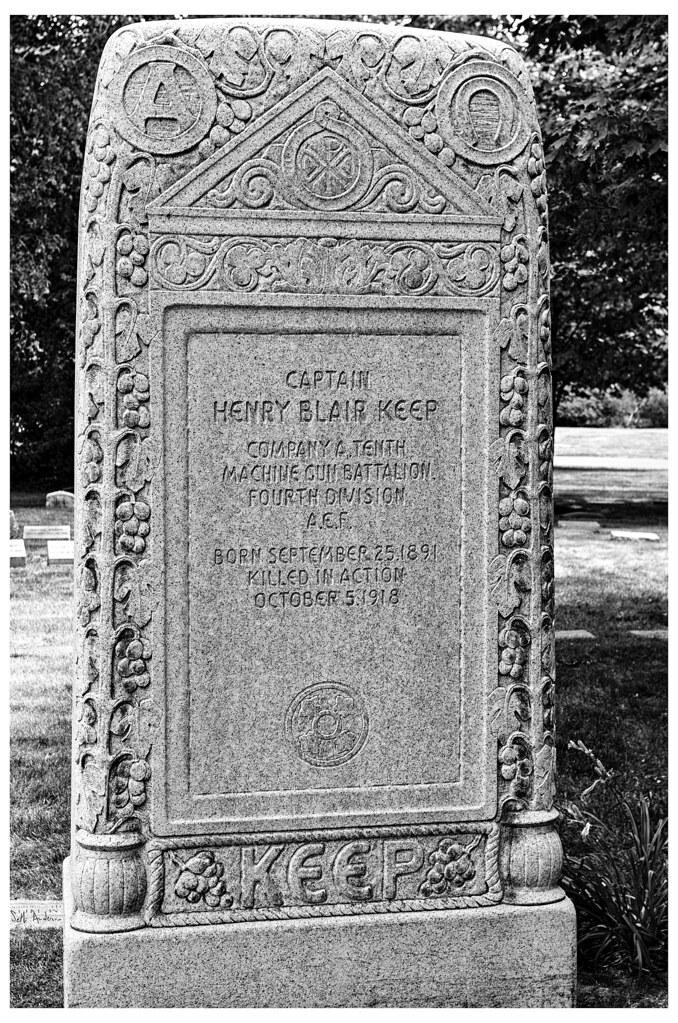 Grave of Captain Henry Blair Keep | Flickr - Photo Sharing! Blair