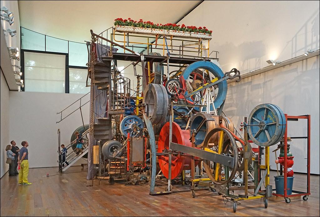 La Grande Machine Promenade Mus 233 E Tinguely B 226 Le Flickr