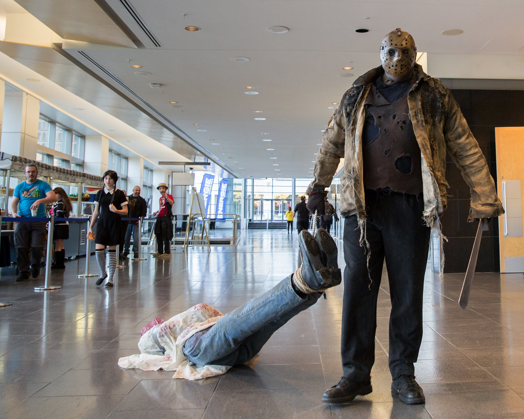 Jason Voorhees Quebec City Comic Con 2015 Taken At The