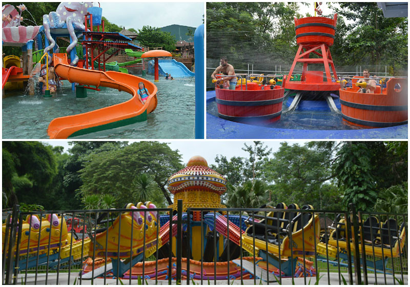 9. Water Slides amusement collage