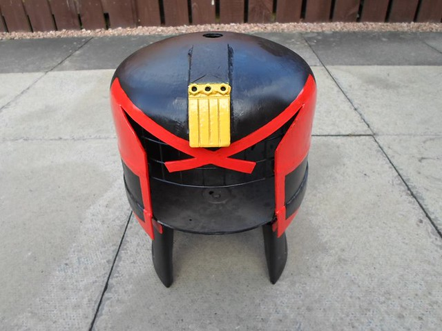 Judge Dredd by Caddyshack Creations