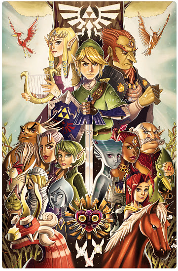 The Legend of Zelda by Chrissie Zullo