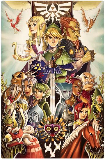 The Legend of Zelda by Chrissie Zullo