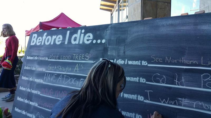 before i die i want to blackboard