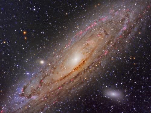 VCSE - Mai kép - az Androméda galaxis