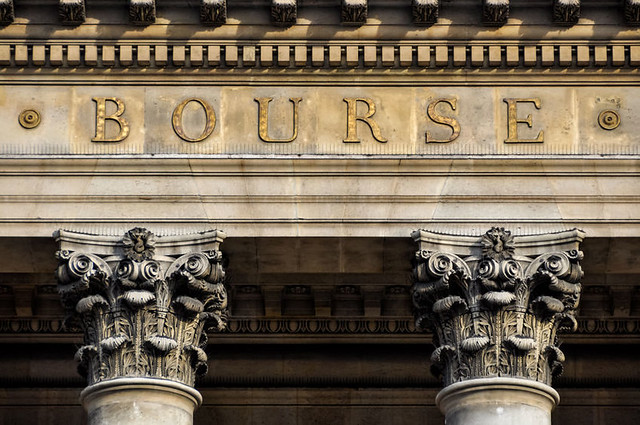 French stock exchange equity market valuations