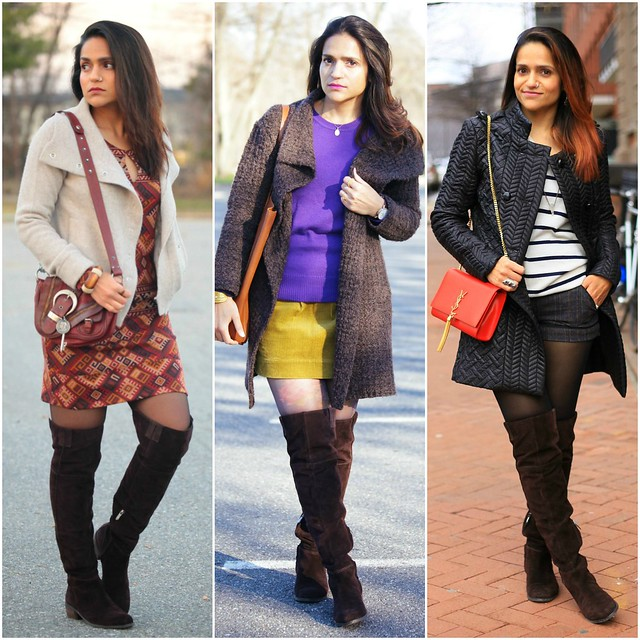12_Three Ways To Style A Brown Knee High Boots Tanvii.com