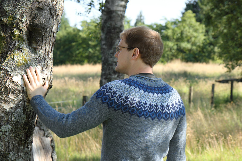 'Grettir' sweater by Jared Flood