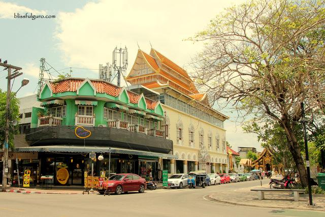 Intrawarorot Road Chiang Mai Thailand