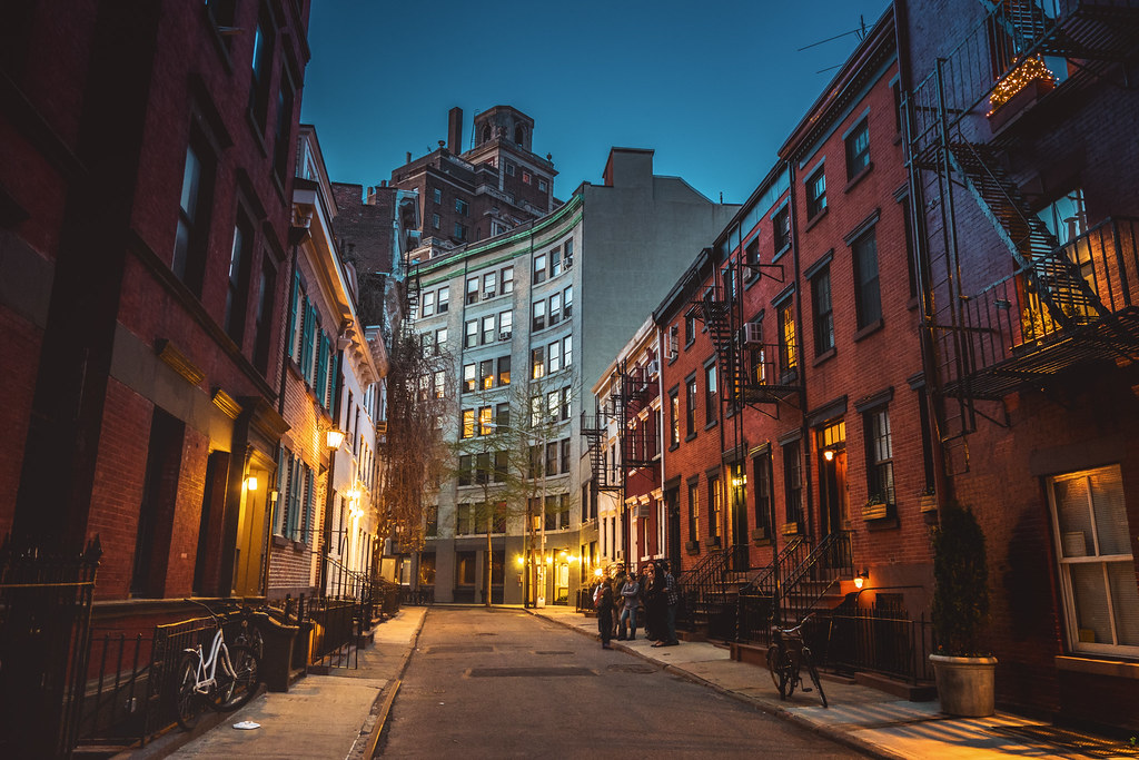 West village evening new york city new york city for The village nyc