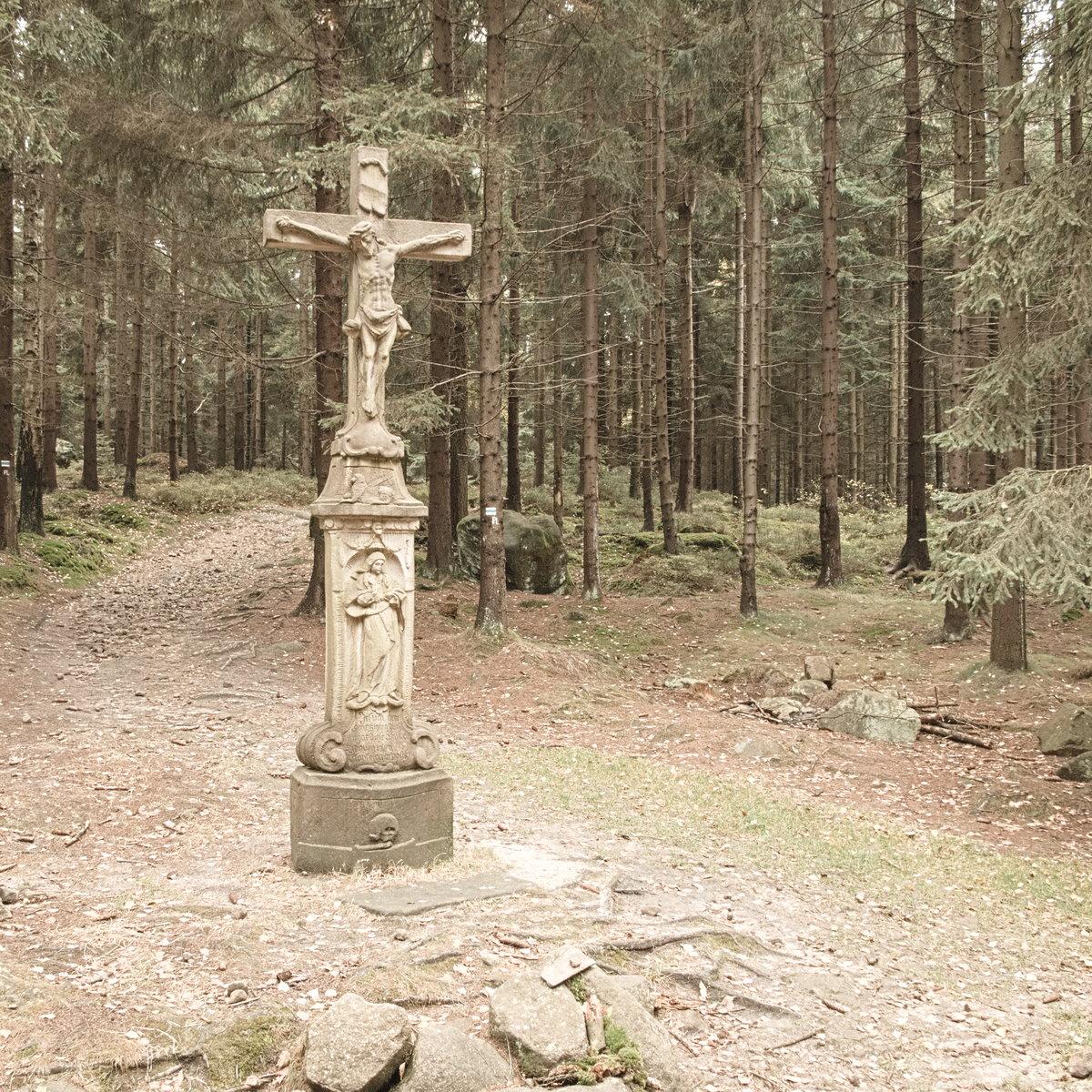 Góry Stołowe warto zobaczyć Machowski Krzyż