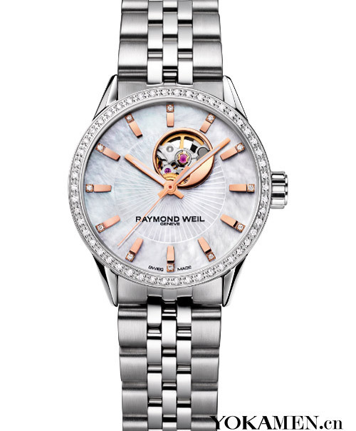 Raymond Weil's new book-freedom riders sunshine fair ladies watches