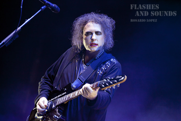 Concierto de The Cure en Barcelona