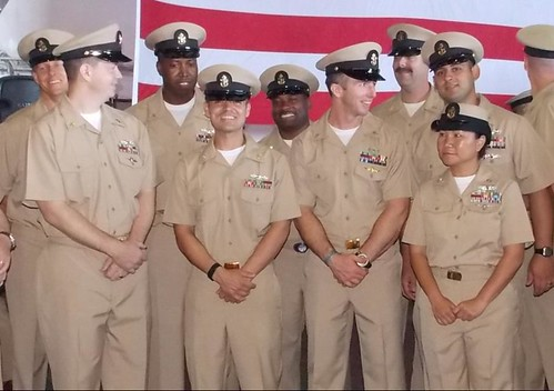 COMCARSTRKGRU Nine Hosts Chief Pinning Ceremony