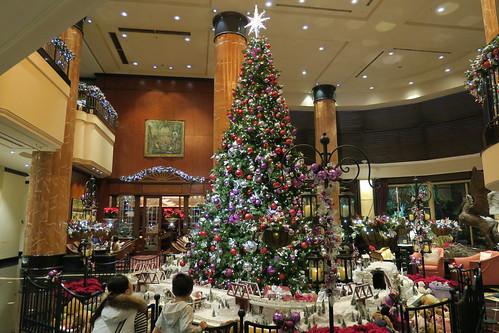 ウエスティン東京のクリスマスツリー2015