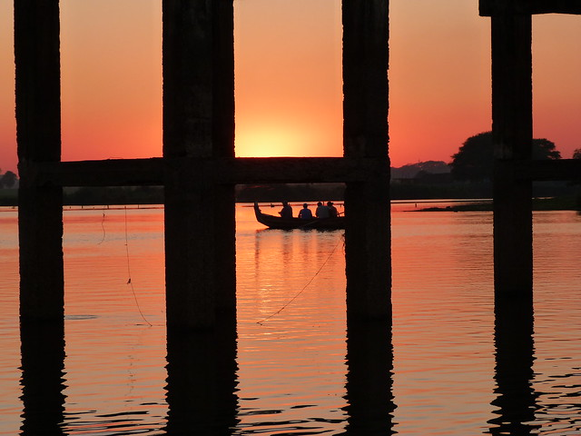Puente U Bein de Amarapura (Myanmar)