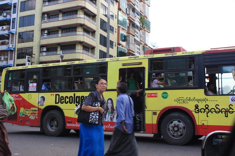 Янгон, транспорт, Мьянма