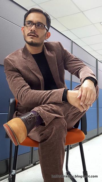 halfwhiteboy velvet suit and waffle sweater 10